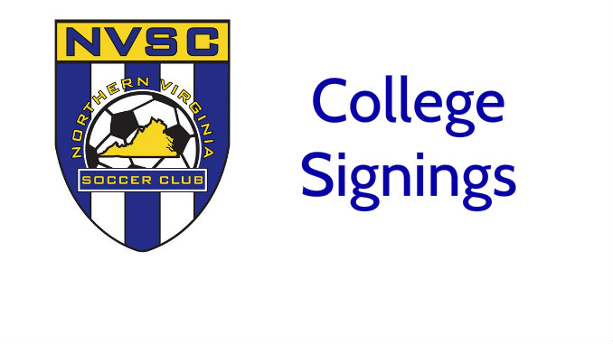 College Signings at NVSC