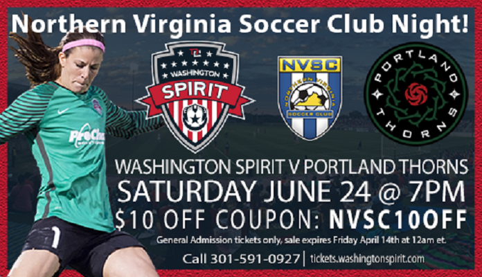 NVSC Night at the Spirit!! June 24th, 2017