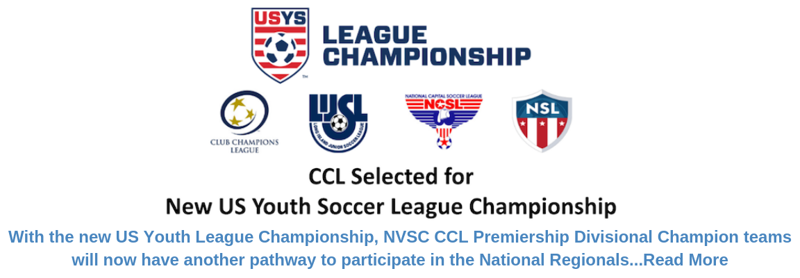 CCL Selected for New US Youth Soccer League Championship