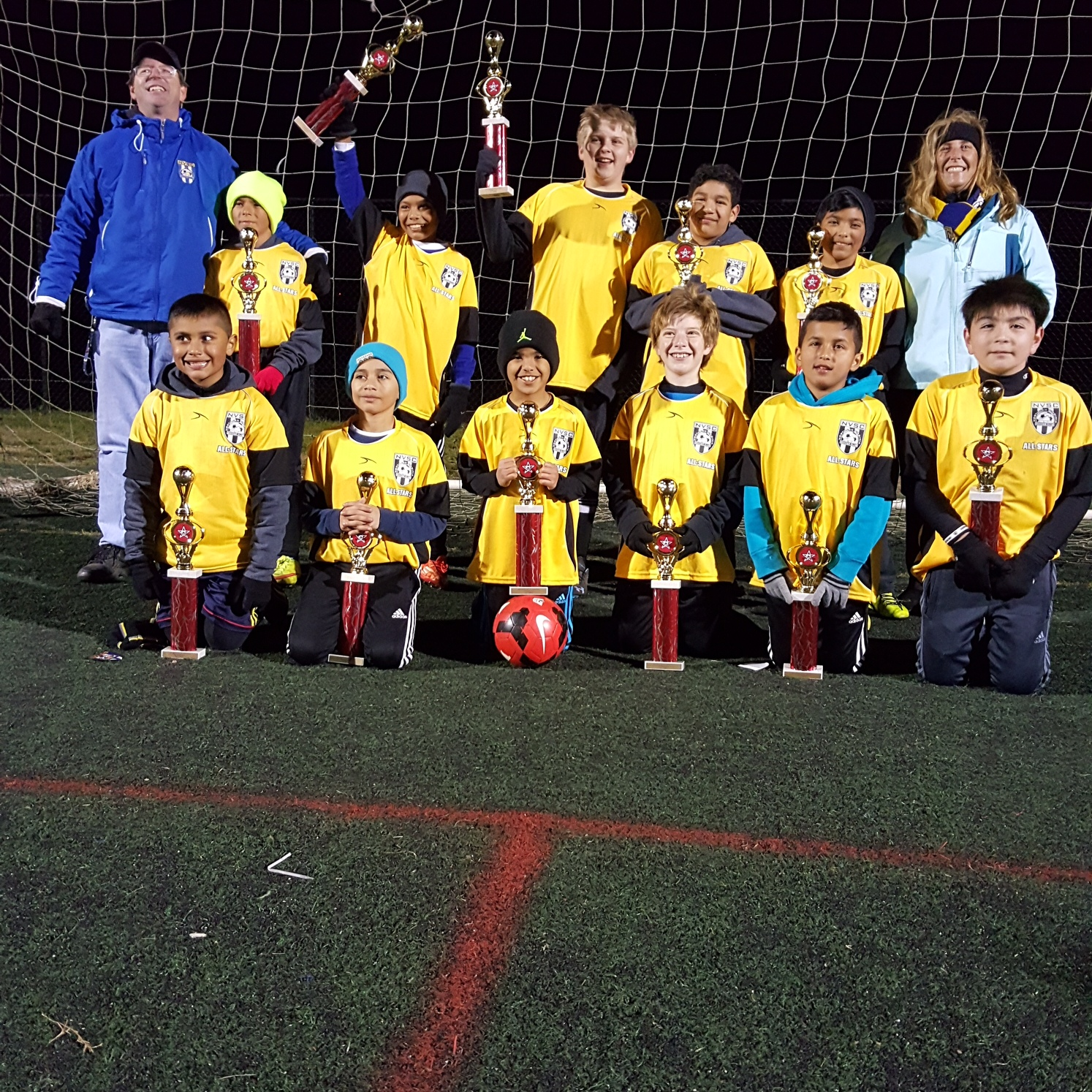 Fall 2015 Herndon All-Star Tournament (U11B Blue Champions)