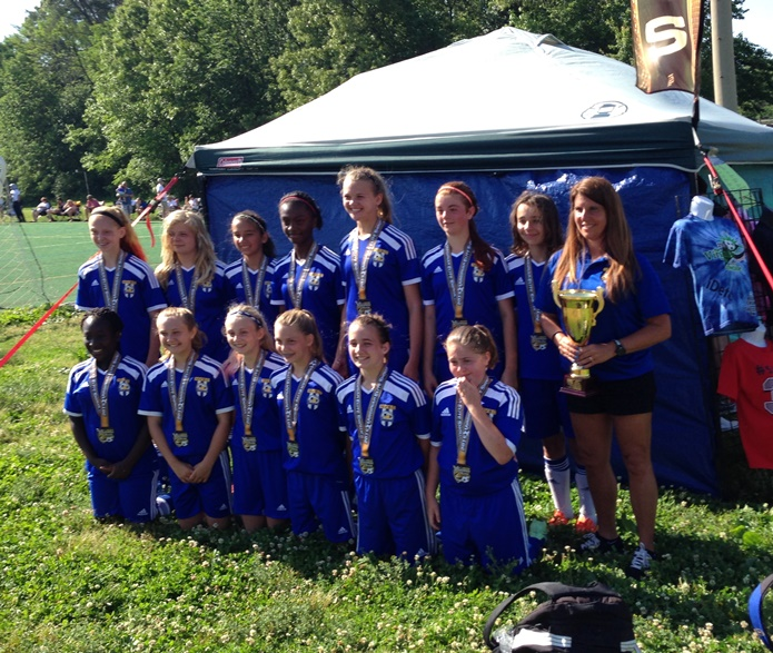 United 02G Blue win Virginian Tournament 2015
