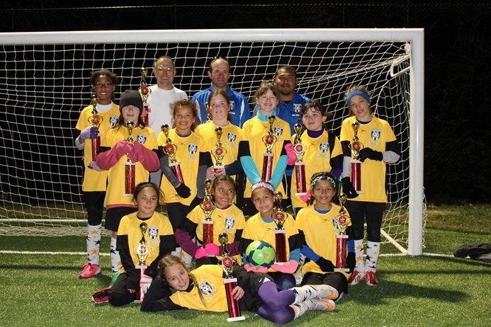 Fall 2015 Herndon All Star Tournament U11 Girls Champions
