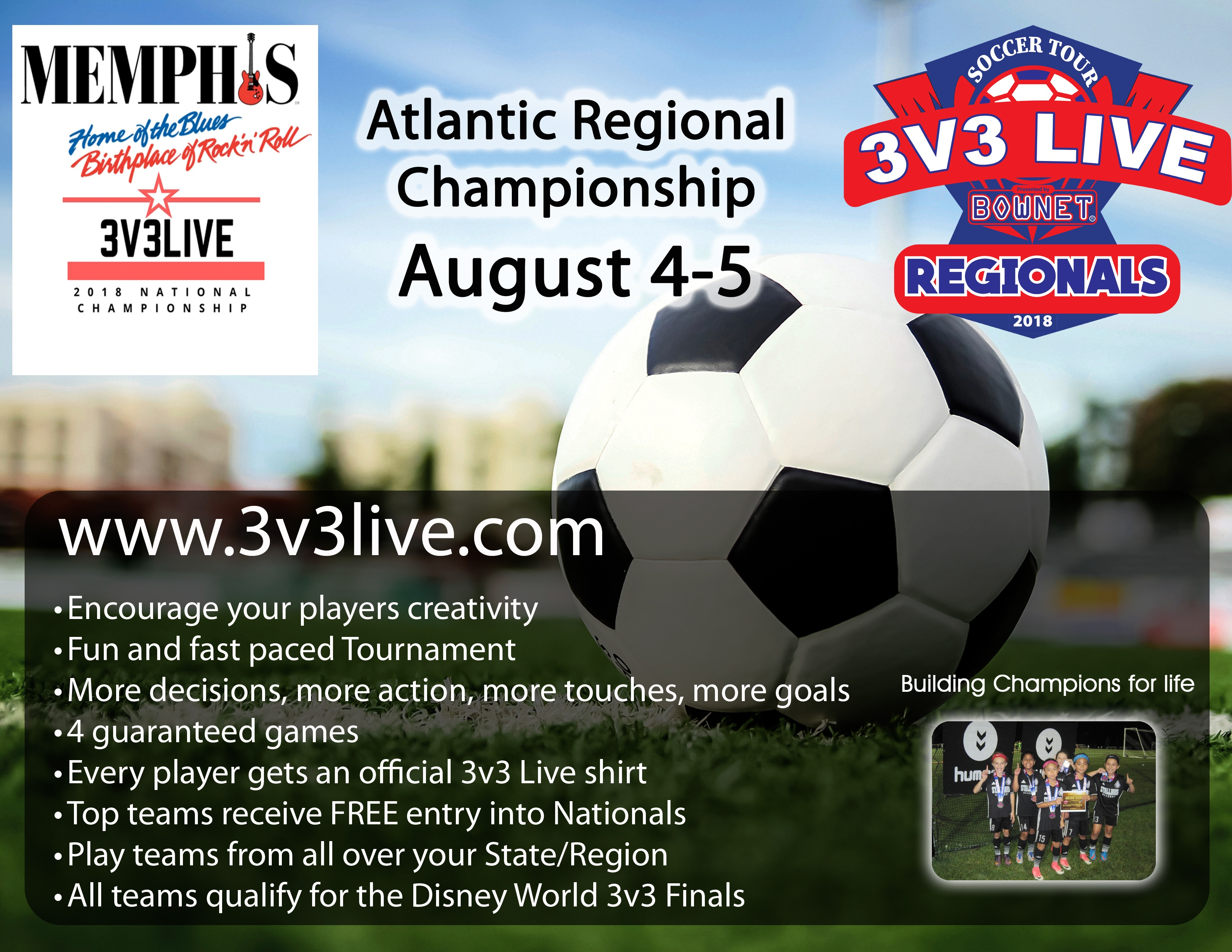 3V3 Live Regional Tournament - August 4th and 5th ...