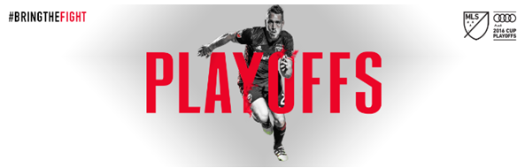 DC United Playoff Game this Thursday Oct 27th