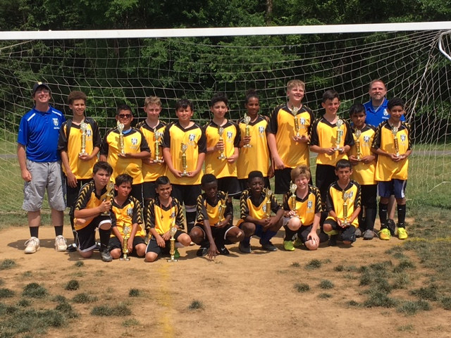 NVSC U13B BLUE All-Star Tournament Finalists